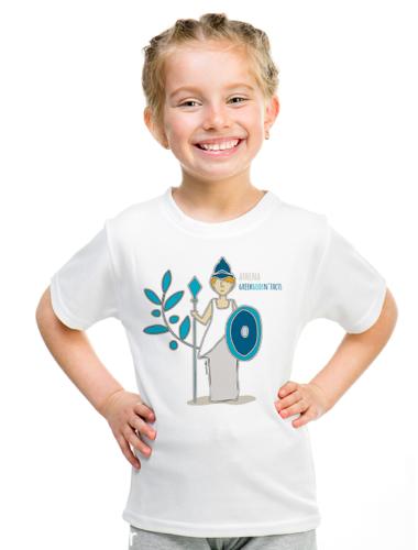 ATHENA - Παιδικό κοντομάνικο μπλουζάκι