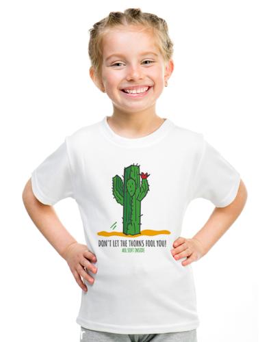 CACTUS - Παιδικό κοντομάνικο μπλουζάκι