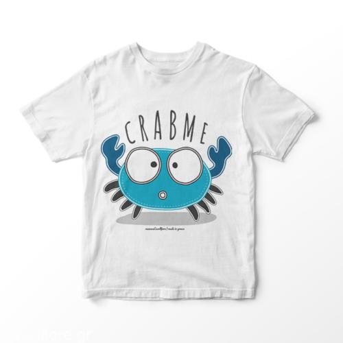 CRABME - Παιδικό κοντομάνικο μπλουζάκι