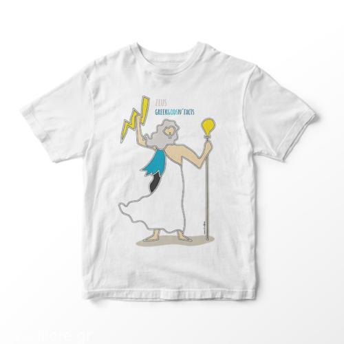 ZEUS - Παιδικό κοντομάνικο μπλουζάκι