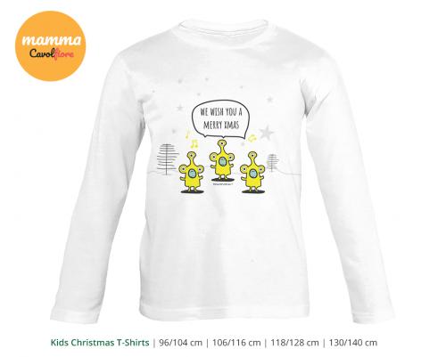 Εξωγήινοι 02 - Μακρυμάνικο μπλουζάκι - Χριστούγεννα 100% Cotton