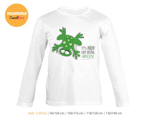 Βάτραχος - Μακρυμάνικο μπλουζάκι - 100% Cotton