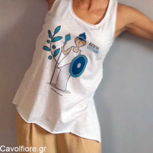 Γυναικείο μπλουζάκι - ΘΕΑ ΑΘΗΝΑ